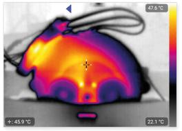Ringfield Motor Upgrade Kits Temperature Analysis