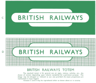 British Railway Fonts and Typefaces - ScotRail & British Rail Fonts