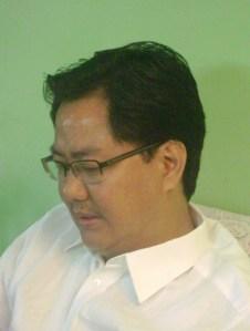 Kiren Rijiju, Lok Sabha MP, Arunachal (West)
