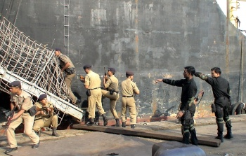 CISF personnel being trained in maritime operations