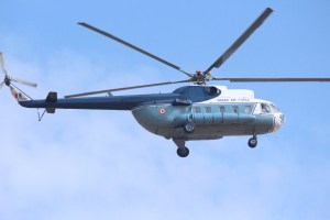 An IAF Mi-17 at Aero India 2013 | Photo: StratPost