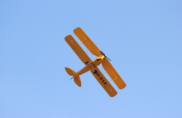 Vintage IAF Tiger Moth | Photo: StratPost