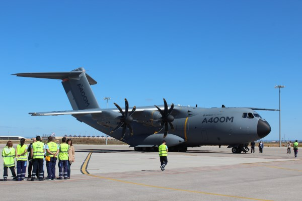 Airbus A400M at Seville, Spain | Photo: StratPost