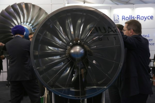 The Rolls-Royce Advanced Military Fan concept at Aero India 2015   Photo: StratPost