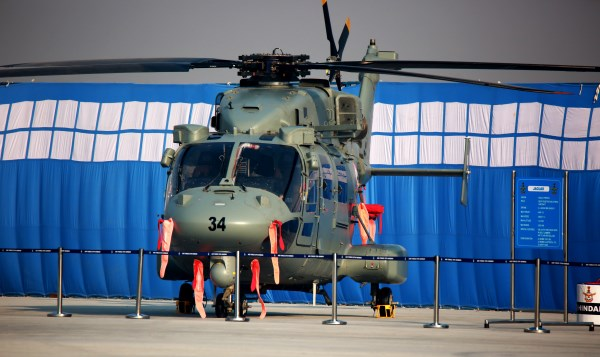 Indian Air Force Dhruv Advanced Light Helicopter | Photo: Saurabh Joshi/StratPost