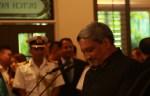 Defense Minister Manohar Parrikar at the Shangri la Dialogue 2016 | Photo: Saurabh Joshi/StratPost