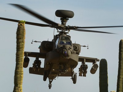 AH-64E Apache attack helicopter | Image: Boeing