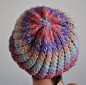 Gold Rush Slouch Hat (back)