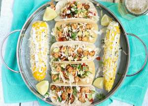 Grilled Shrimp Tacos | Strawberry Blondie Kitchen