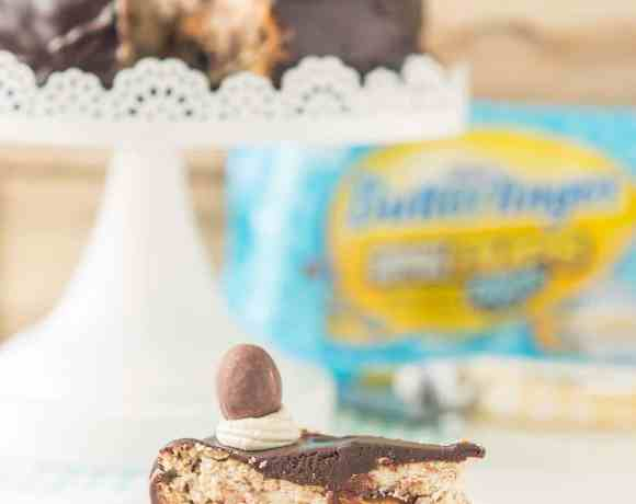 BUTTERFINGER® Cheesecake Pie