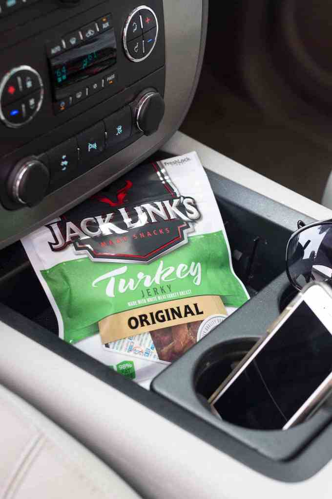 How to Hack the Hungry with Jack Links Jerky. The perfect high protein, low fat snack for busy parents on the go   Strawberry Blondie Kitchen