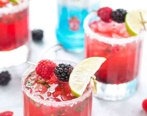 Triple Berry Mojitini