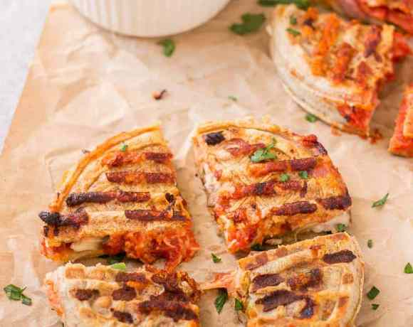 Pizza Wafflewiches