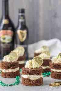 Chocolate Guinness Mini Cakes with Baileys Buttercream