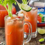 Spice up your summer celebrations this season with Spicy Micheladas. Wasabi packs a punch to give you an unexpected spicy twist that's delicious and refreshing. | Strawberry Blondie Kitchen