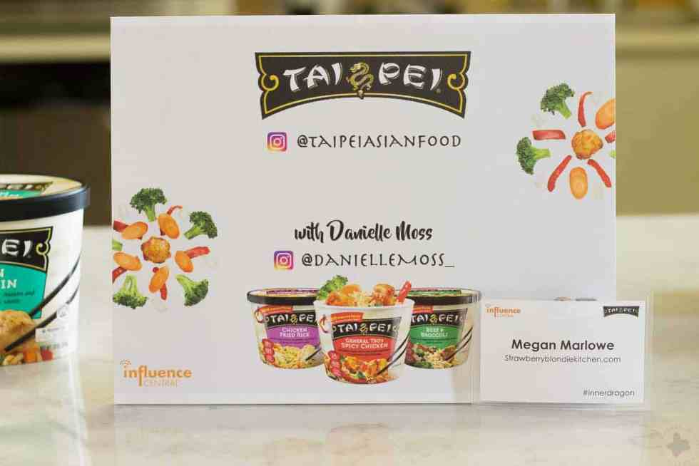 Need a delicious, quick and easy meal in minutes? Try the all-new Tai Pei Foods single serve line of Asian inspired frozen entrees. You'll save time and simplify meal time! | Strawberry Blondie Kitchen