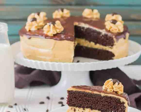 Peanut Butter Espresso Cake