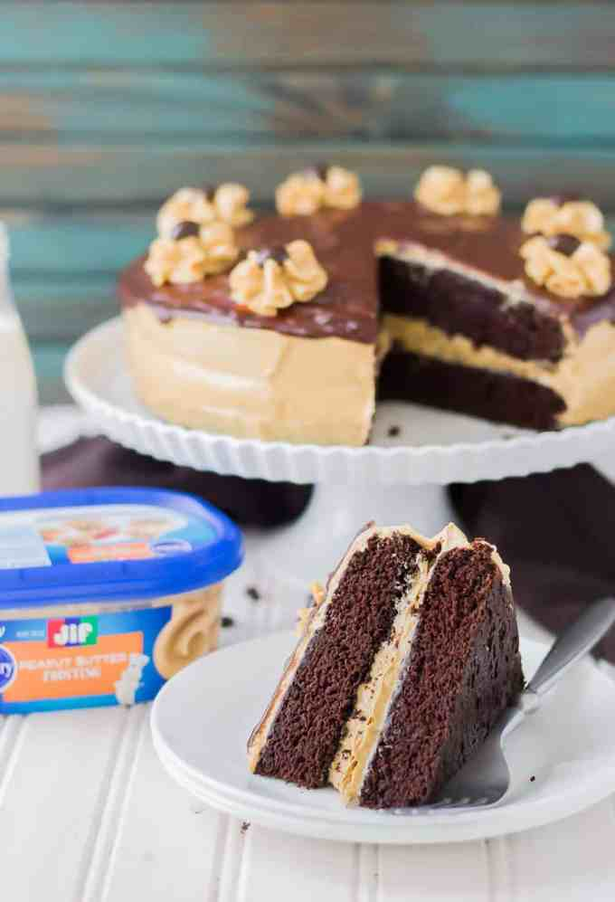 Layer Cake With Jif Peanut Butter