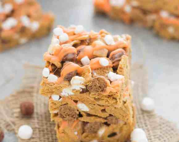 Pumpkin Spice S'mores Bars