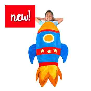 holiday gift guide snuggie tail rocket ship