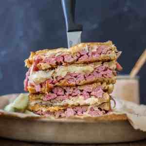 Epic Reuben Sandwich