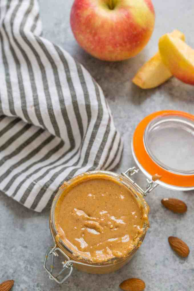 Apple Chai Almond Butter