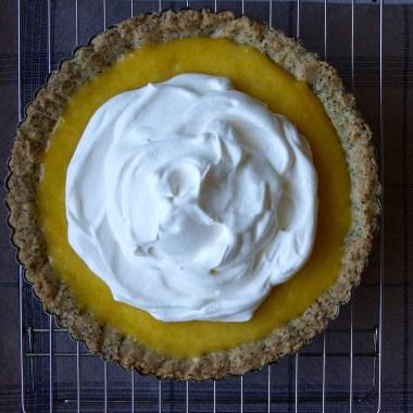 Lemon Curd & Earl Grey Shortbread Tart