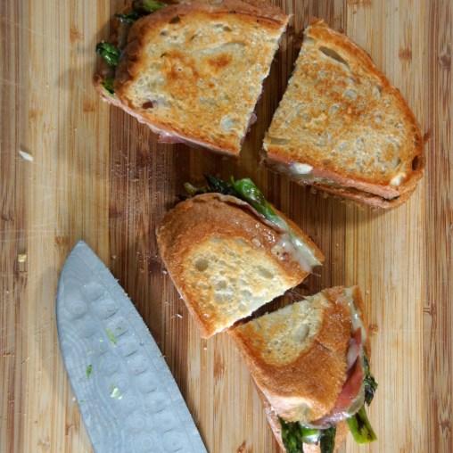 Asparagus, Fontina & Speck Ham Panini