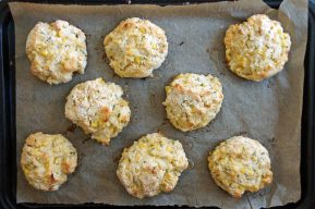 Sweet Corn & Cornmeal Buttermilk Biscuits