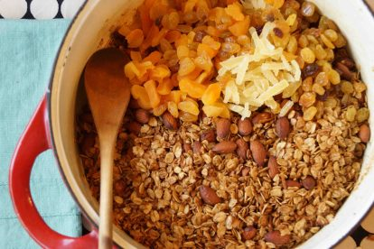 Maple Molasses Granola