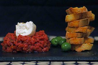 Steak Tartare with Buratta