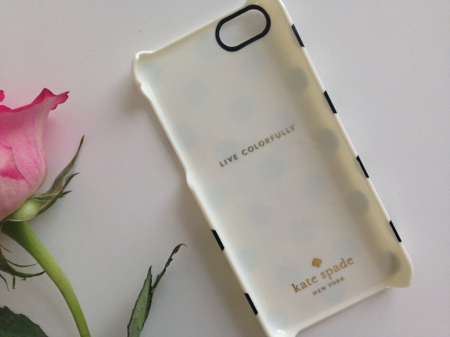 Kate Spade Polka Dot, Phone Case for the iPhone 5c | UK Lifestyle Blog