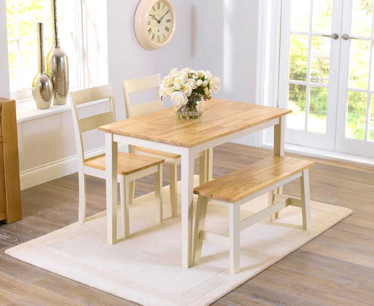 Xlg Resize 733 Chiltern Oak Cream Dining Table