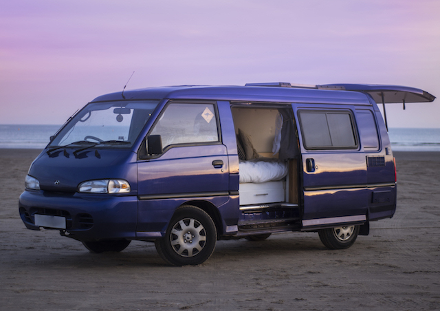 Van Life Tour: Our Custom 1999 Hyundai H100 Van Conversion | UK Lifestyle Blog