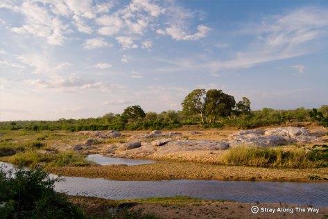 Letaba River in the Kruger Park