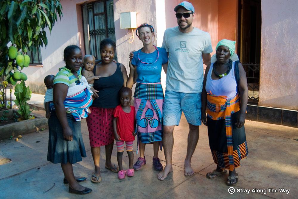 Meeting the Venda locals