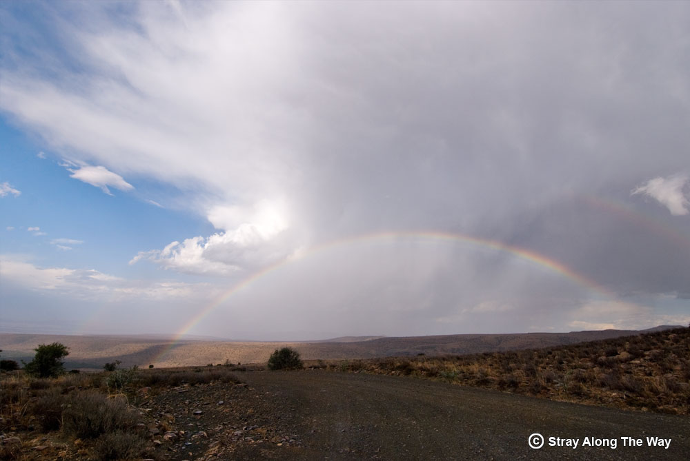 Rainbow in the Mountain Zebra National Park