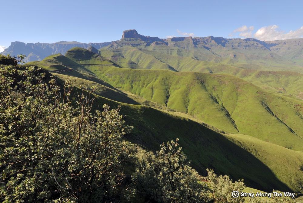 The Sentinel Peak in the Drakensberg