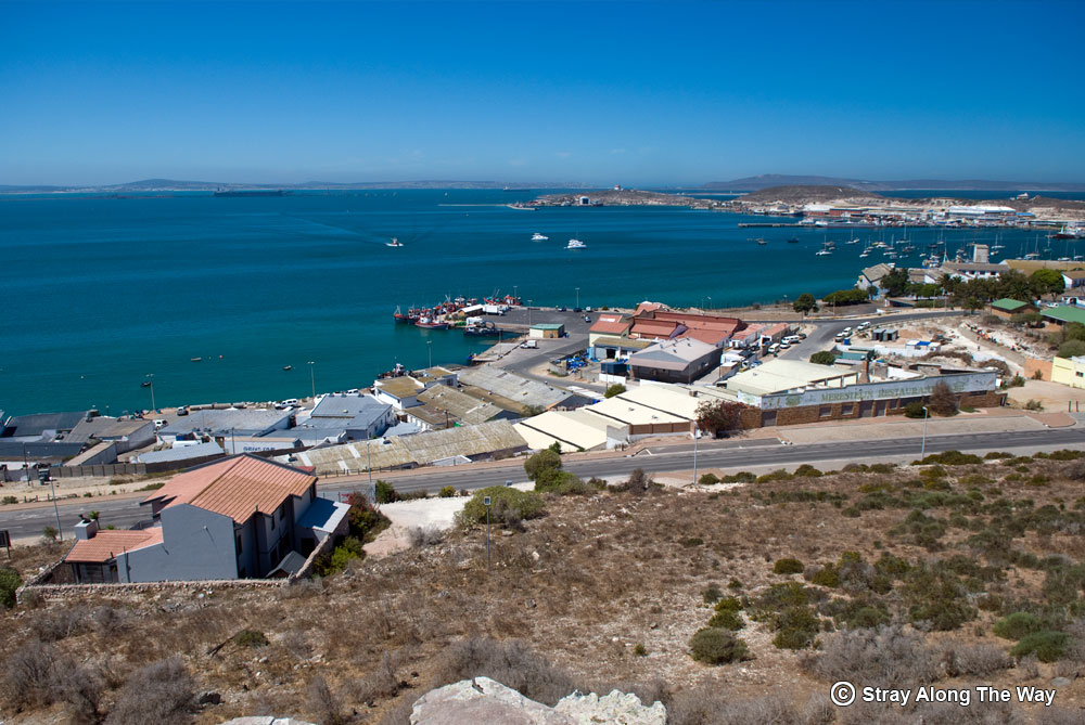 Saldanha Bay aireal view on the West Coast Peninsula