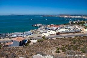 Saldanha Bay areial view