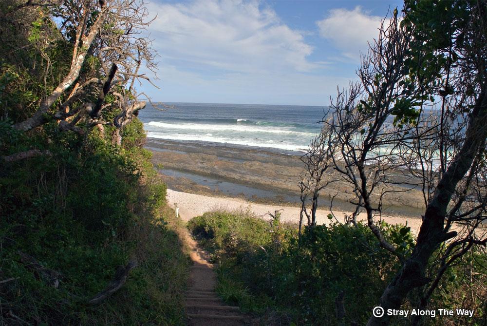 Garden Route Beach Pathway