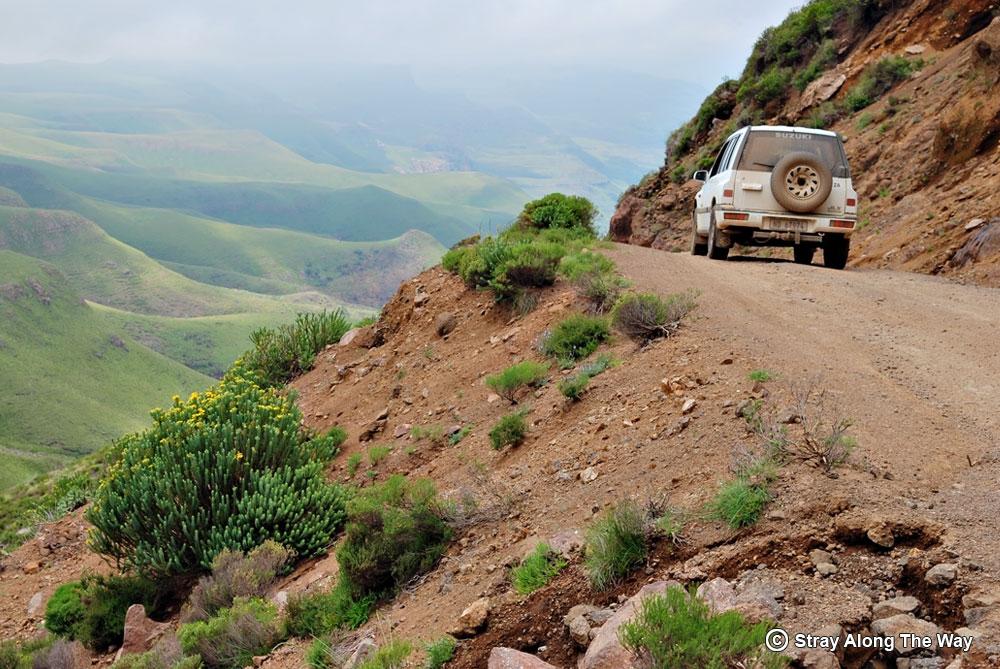 Descending Sani Pass