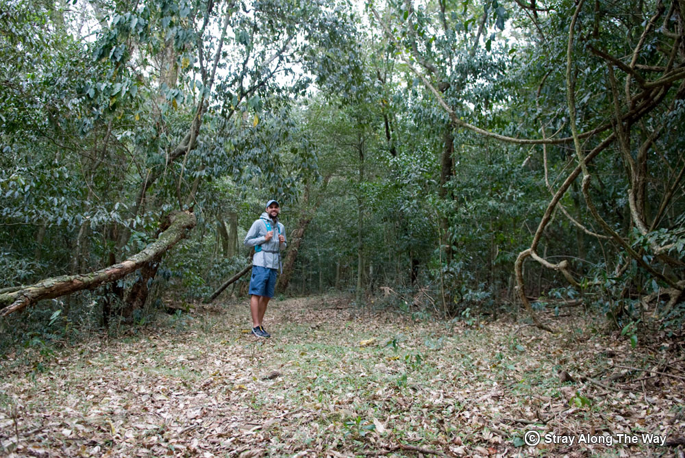 Bevan at the start of the uKhozi Trail.