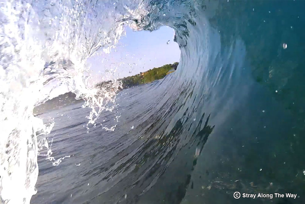 GoPro Mouth Mount Lacerations Indonesia