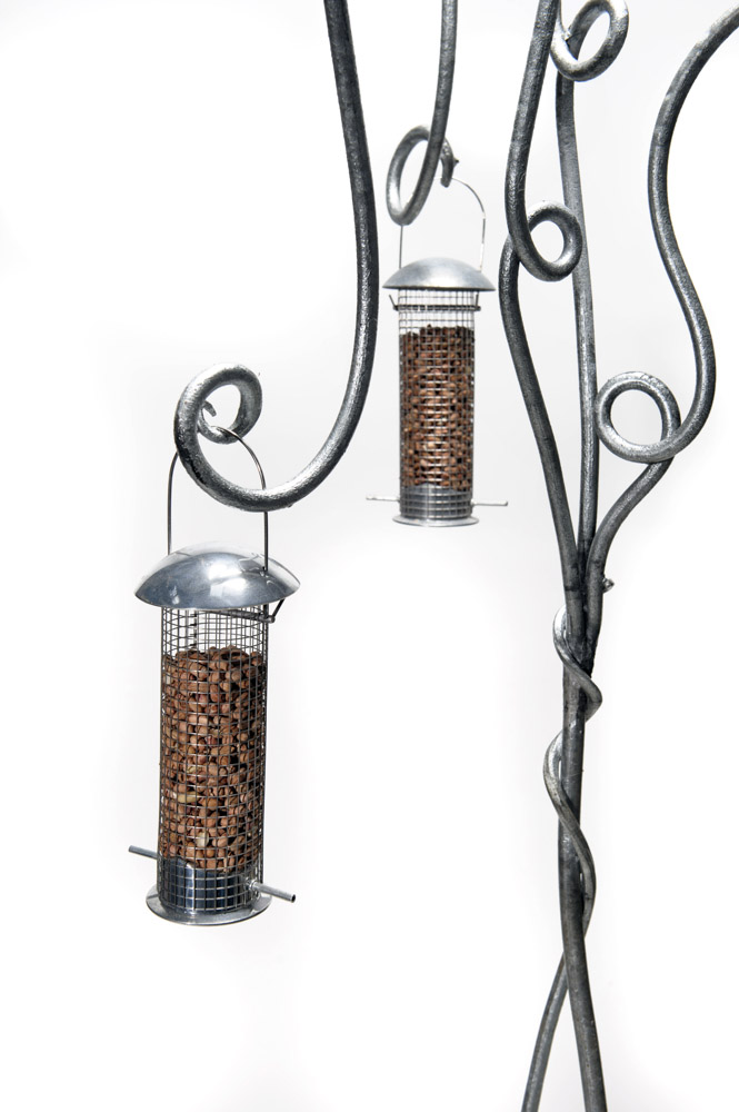 Bird Feeder, hand forged, blacksmith