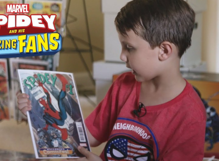 Spidey and His Amazing Fans: 22,000 Comics in His Collection!