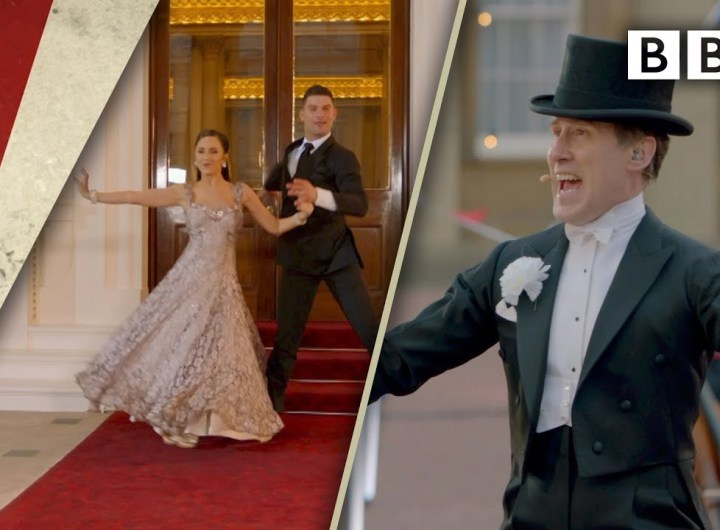 'Puttin' On The Ritz' - Anton du Beke with Strictly stars! | VE Day 75 - BBC