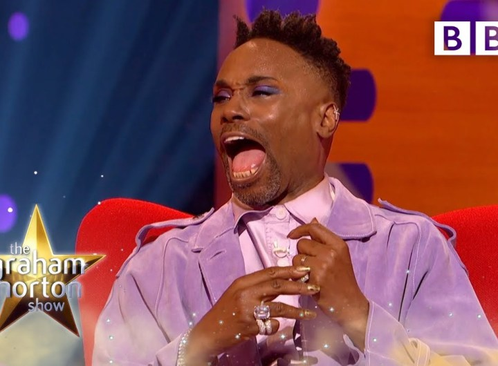 Billy Porter: How being second banana can change your life    The Graham Norton Show - BBC