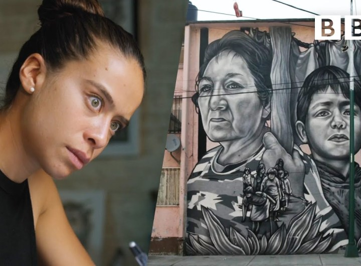 These murals in Mexico City are helping to clean the polluted air   The Earthshot Prize - BBC