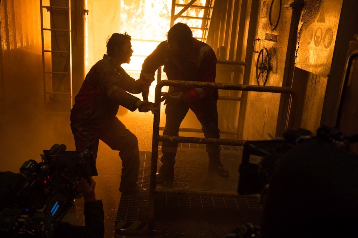 Mark Wahlberg and Dylan O'Brien's Deepwater Horizon now
